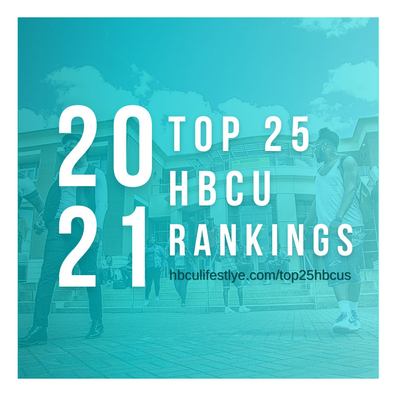 Students on campus prior to the pandemic of 2020 at Norfolk State University (ranked 20th) in the Top 25 HBCU Rankings for 2021.
