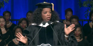 Oprah Winfrey shared nuggets of wisdom with Spelman graduates