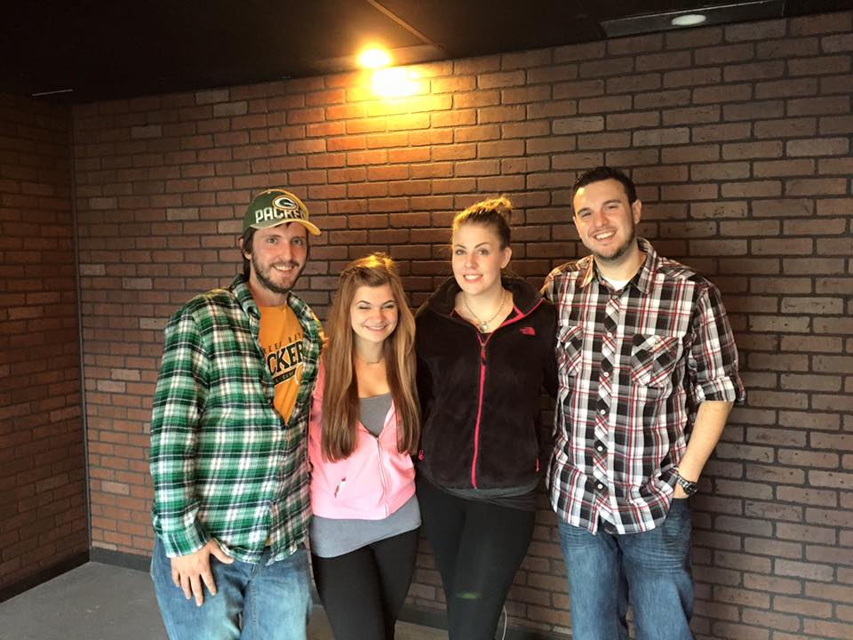 Trapped Escape Room Buffalo Players!
