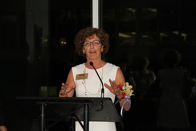 Kathy Hettick speaking