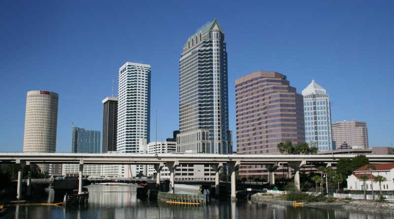 Tampa Florida downtown photo