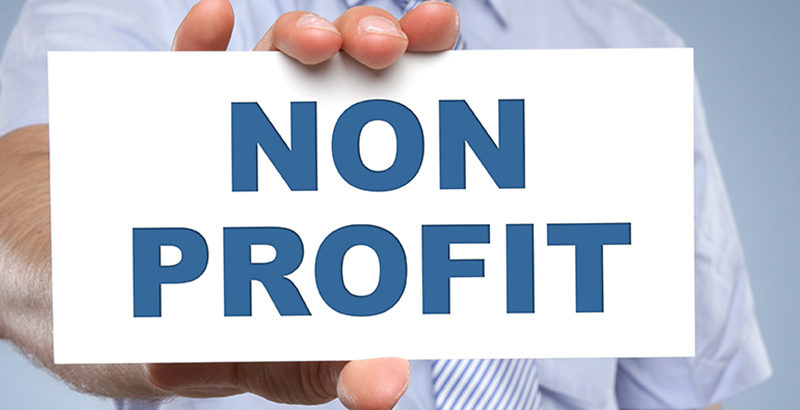 Non Profit sign