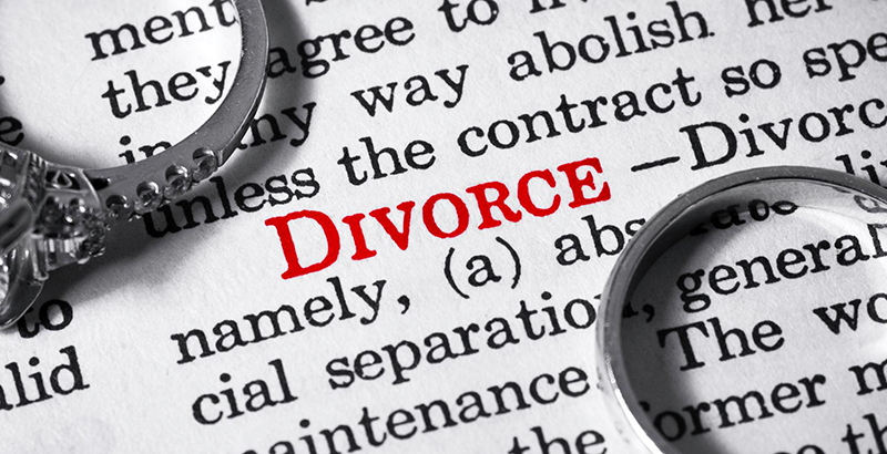divorce banner