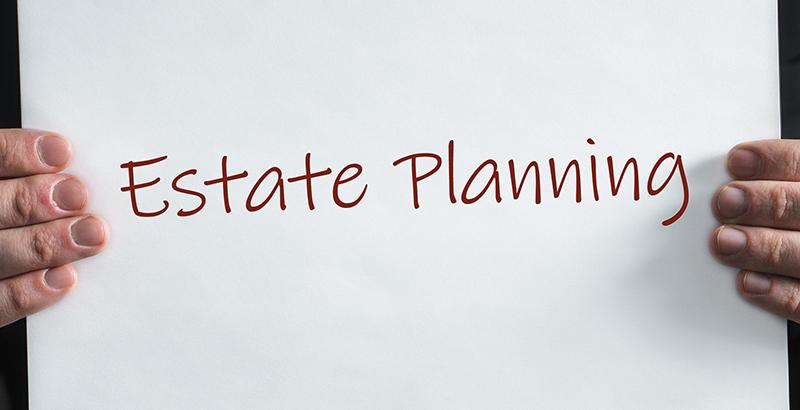 estate planning sign