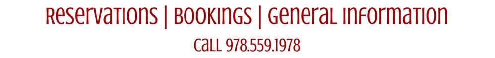 Reservations - Bookings - General