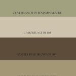 Beach House C: Benjamin Moore paint colors