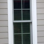 Beach House New Window Trim Detail at siding