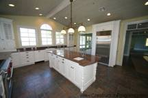 Orlando, Lake Conway, Colonial Remodel with additions. New Kitchen facing the lake. Susan Berry, Home Designer