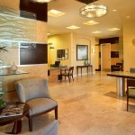 Portfolio-Commercial-Seaside National Bank, Lake Mary, Florida, Contemporary Lobby