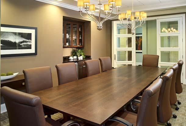 Portfolio, Commercial, Seaside National Bank, Palm Beach, Florida, Community Conference Room, Susan Berry Designer