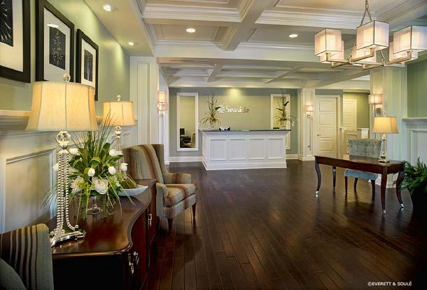 Portfolio, Commercial, Seaside National Bank, Palm Beach, Florida, Lobby, Susan Berry Designer