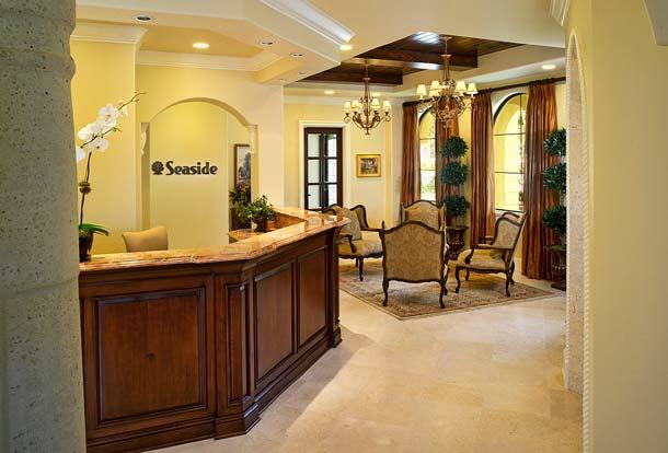 Portfolio-Commercial-Seaside National Bank, Winter Park, Florida, Teller and Lobby, Susan Berry Design