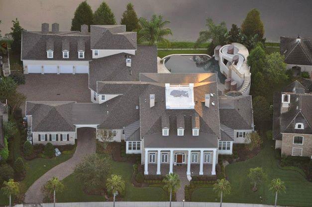 Contemporary Interior Designer for Traditional Style celebration, Florida Home-6 car garage