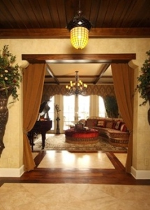 Entry: French Country Style: Interior Architecture, Lighting & Flooring, Orlando, Florida