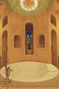 Master Tub: Cinque Terra, Modern Florida Mediterranean Street of Dreams home, Interior Architectural Designer, Susan P, Berry