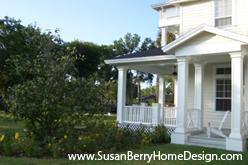 New historical style home design in Winter Park by Susan P. Berry, home building designer