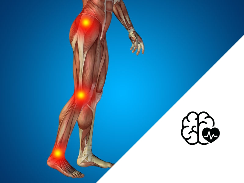 Fix a stiff leg after a stroke