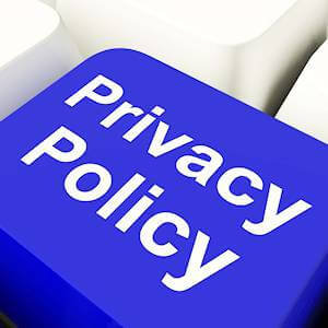 Privacy Policy Key on a Keyboard