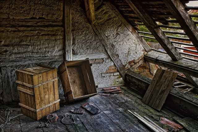 Picture of a few boxes and broken things in a decrepit attic. The PRESERVATIVES present no authentic value to most individuals. They create barren intellectual and creative environments where discoveries and ingenuity cannot survive.