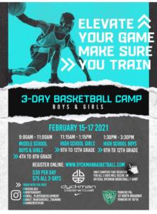 3-Day Basketball Camp