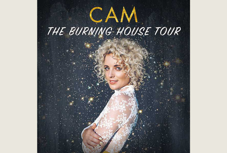 Cam The Burning House Tour