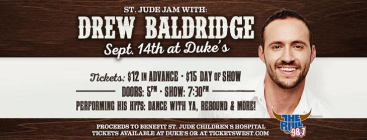 Drew Baldridge St. Jude Jam