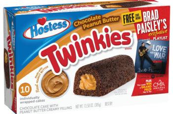 Brad Paisley Hostess Twinkies