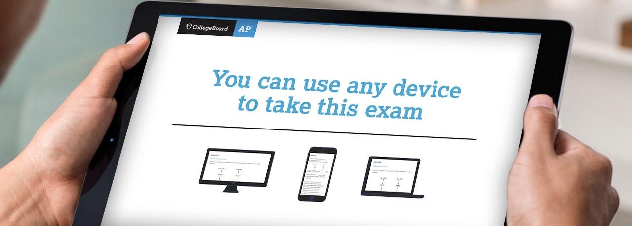 College Board: AP Online Exams walkthrough video