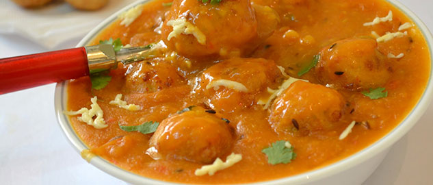 VEGETABLE MALAI KOFTA CURRY