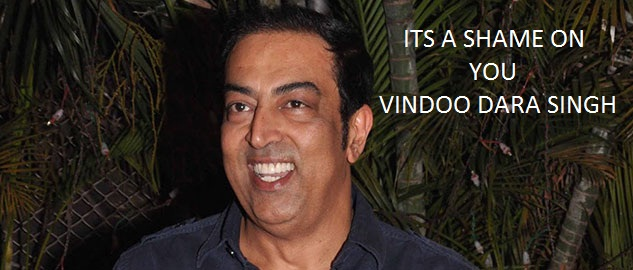 VINDOO DARA SINGH ARRESTED...