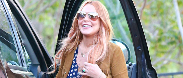 Lindsay Lohan back from 3 month Rehab