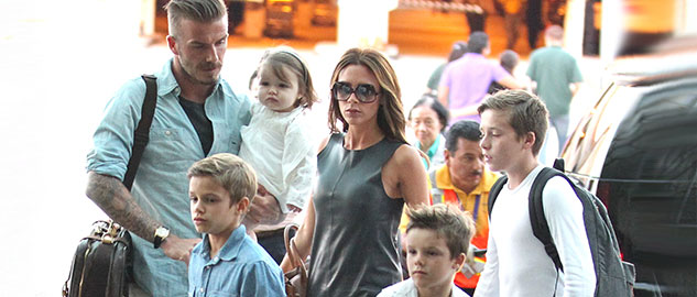 Victoria Beckham doesn't spoil her kids