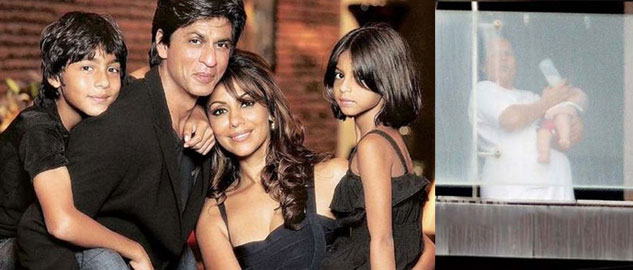 Shahrukh-with-his-family
