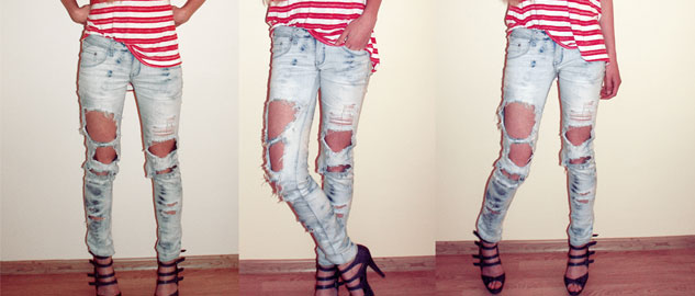 DIY Ideas to renew your old jeans