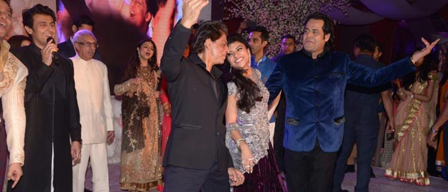 Bollywood biggies at Uday and Shirin's Sangeet Ceremony.
