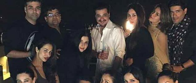 Karan Johar party with Bollywood stars.