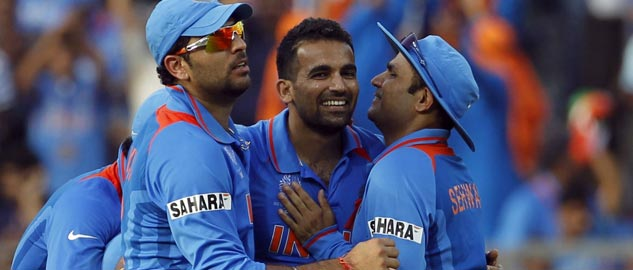 Yuvraj, Harbhajan and Sehwag not included in World Cup team.