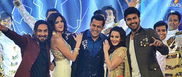 Salman Khan puts on a great show for Bigg Boss 8 finale