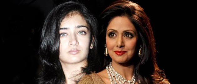 Akshara Haasan to play the role of Sridevi's daughter.