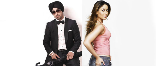 Diljit Dosanjh paired with Kareena Kapoor in Udta Punjab