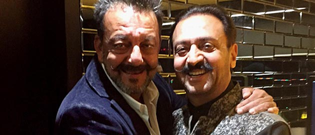 Sanjay Dutt's new year party.