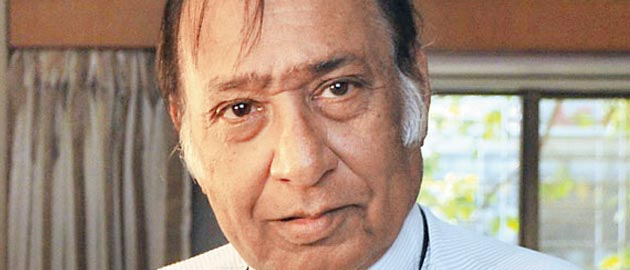 The star of Gujarati films Upendra Trivedi passed away.