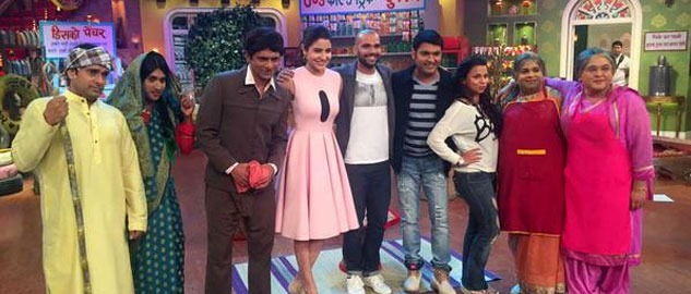 Anushka Sharma and Neil Bhoopalam promote NH10 on Comedy Nights With Kapil