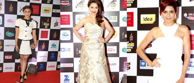 Celebs at the '7th Mirchi Music Awards'