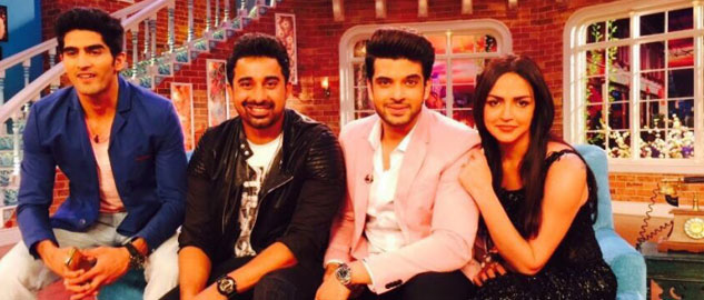 Roadies X2 Judges on Comedy Nights with Kapil