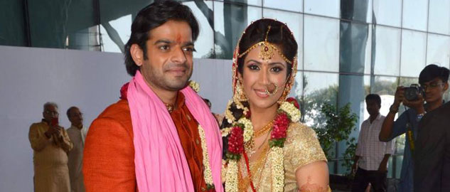 Karan Patel and Ankita Bhargava's tied the knot