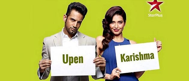 Upen Patel goes down on his knees for Karishma Tanna