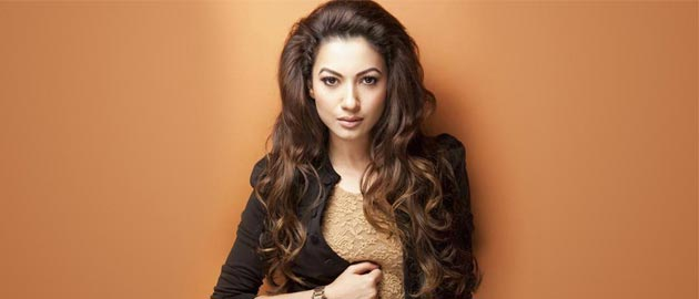 Gauahar Khan has started dubbing for Punjabi film