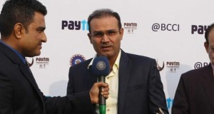 Virender Sehwag Felicitated by Board of Control for Cricket in India