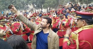 Sunny Deol recently spotted at the BSF camp in Delhi